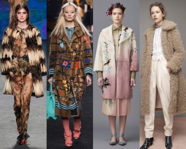 Модные образы весна лето 2018: пальто в принт миди