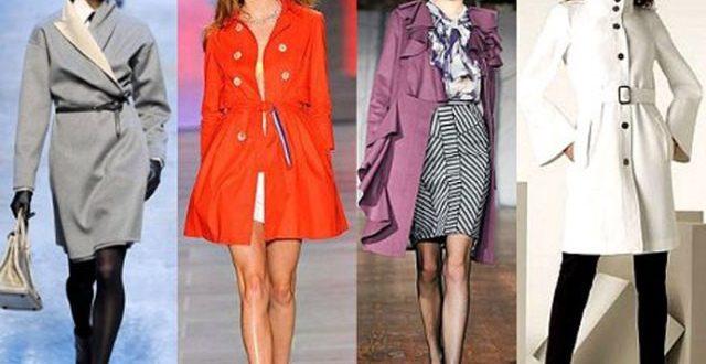 Модные женские плащи осень 2020-2021: фото