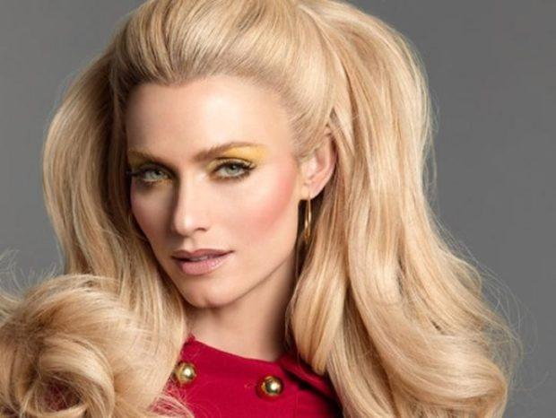 модный цвет волос 2020 года: блонд теплый платина
