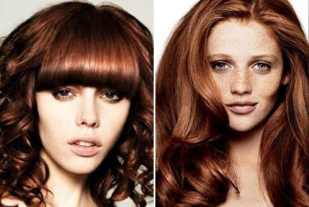 Модный цвет волос 2018: бронзовый цвет волос темный