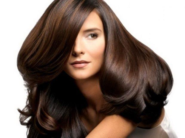 Модный цвет волос 2018: темный шоколад натуральный