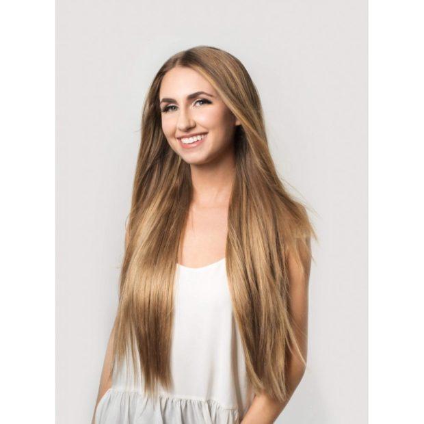 Модный цвет волос 2018: грязный блонд с русым