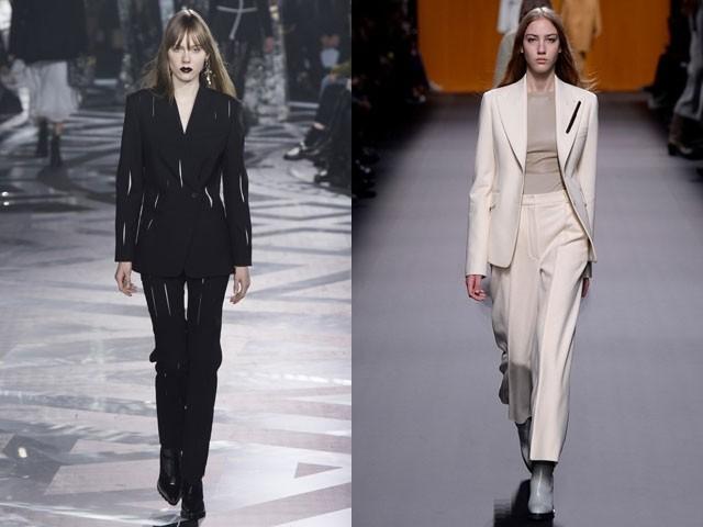 Модные пиджаки осень зима 2018 2019: пиджаки классические черный белый