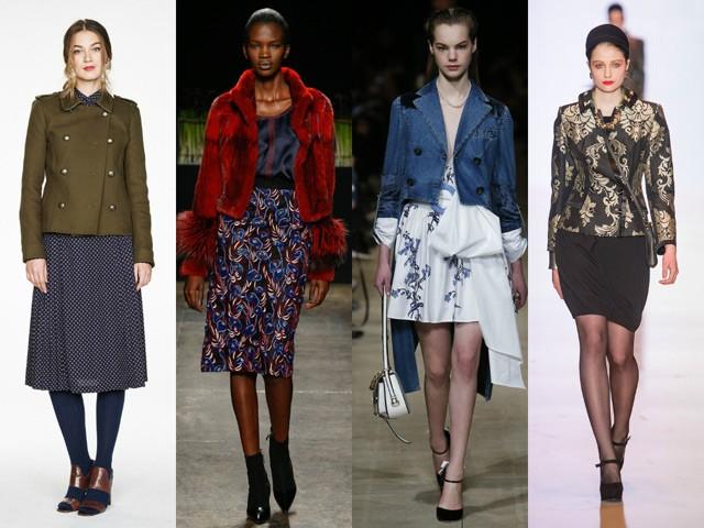 Модный пиджак для осени и зимы 2020-2021: зеленый красный синий в цветы