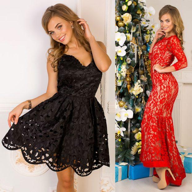 Цветовая палитра вплатьях весна лето 2018: летние платья, черного цвета и красного цвета