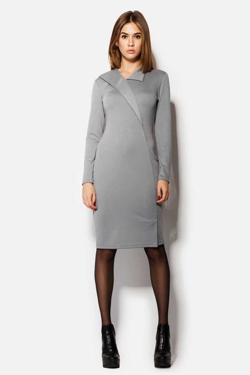 Цветовая палитра вплатьях весна лето 2018: платья, серого цвета