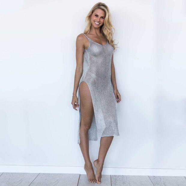 Цветовая палитра вплатьях весна лето 2018: летние платья, цвета металлик