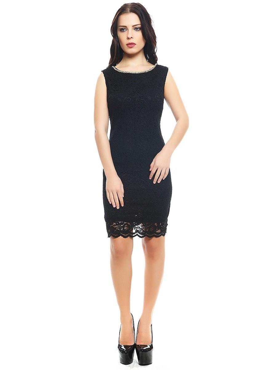 Цветовая палитра вплатьях весна лето 2018: классическое платье, черного цвета
