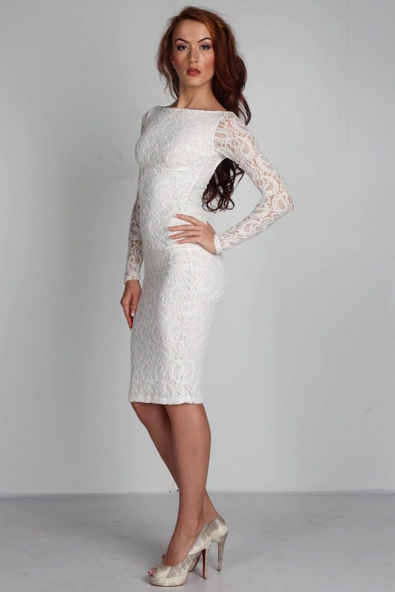 Платья ажурные весна лето 2018:ажурные платья , белого цвета