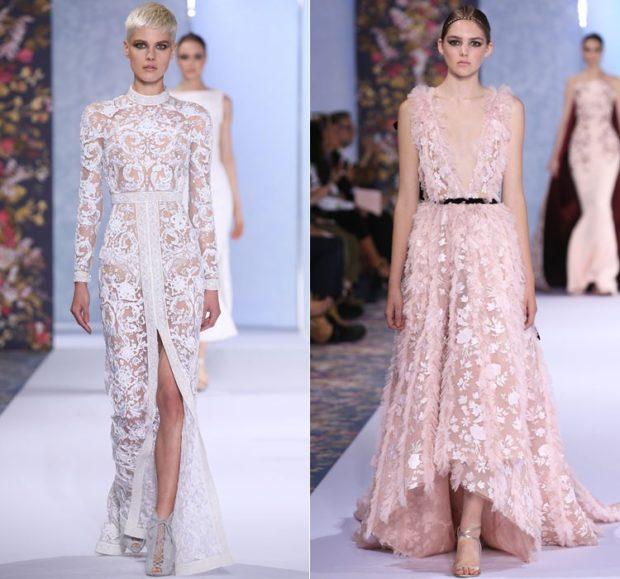 Платья ажурные весна лето 2018:ажурные платья , белого цвета и нежно розового цвета