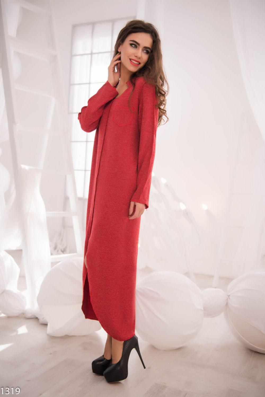 Платья макси весна лето 2018: платье макси,с рукавом,красного цвета
