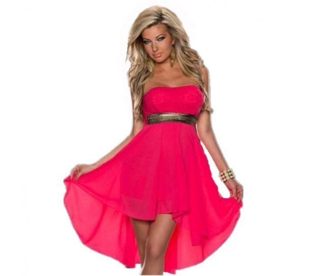 Платья макси весна лето 2018: платье макси,малинового цвета