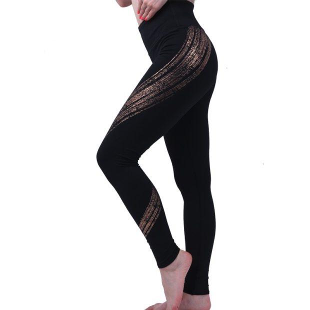 спортивные костюм обтягивающие штаны черного цвета