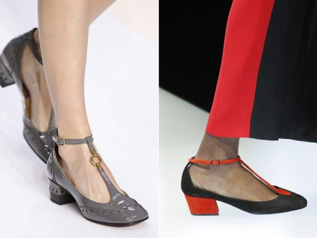 Туфли на низком ходу весна лето 2019: на низком ходу, кожаные, серого и черного цвета