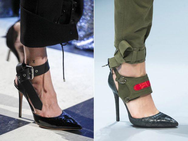 Туфли весна лето 2019: на каблуке кожа и замша без шнуровки на застежке