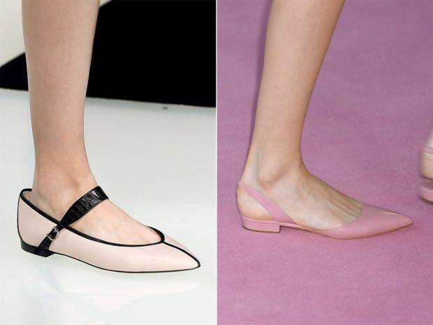 Туфли на низком ходу весна лето 2019: на низком ходу, кожаные,с застежкой и без застежки, бежевые с черными вставками