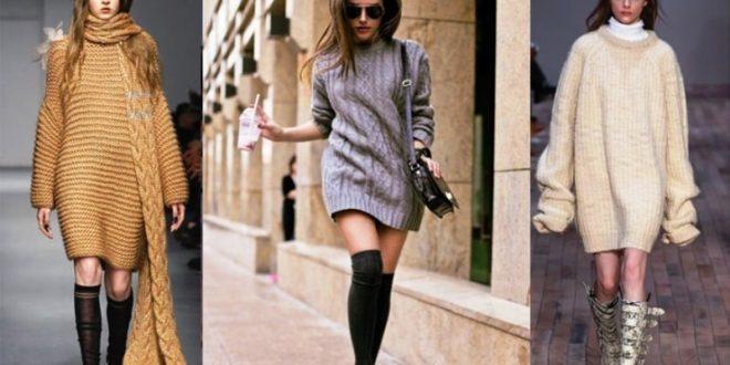 Вязаная мода осень зима 2019-2020