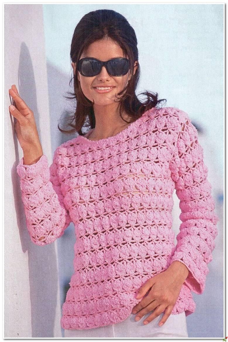 Вязаные свитера осень зима 2018 2019 вязаный свитер,розовый