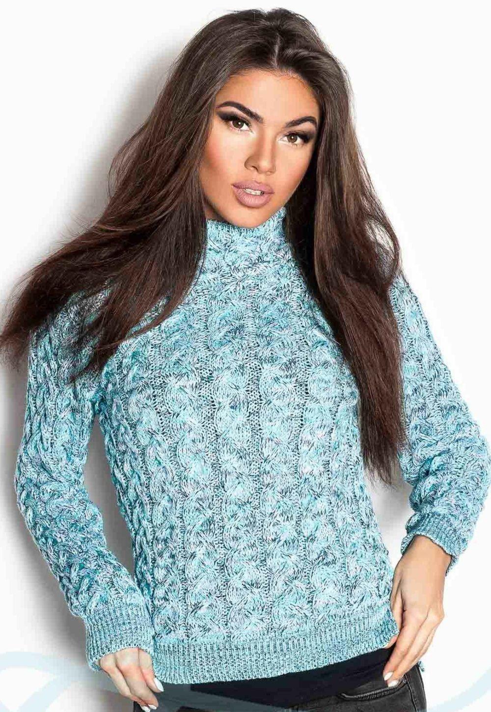 Вязаные свитера осень зима 2018 2019 вязаный свитер,с узором,средний воротник