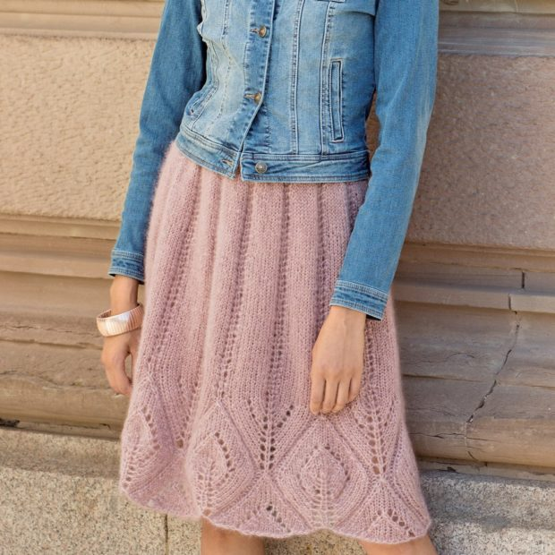 Вязаные юбки осень зима 2018 2019 вязаные юбки,крупная вязка,с узорами