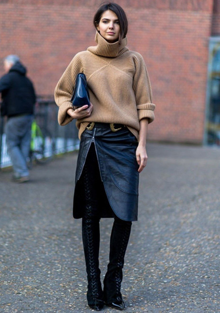 ботфорты зимой с чем носить замшевые