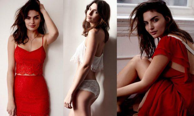 Что одеть на день Святого Валентина 2019: топ и юбка красные красное платье