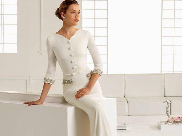 Что одеть на день Святого Валентина 2019: платье длинное по фигуре