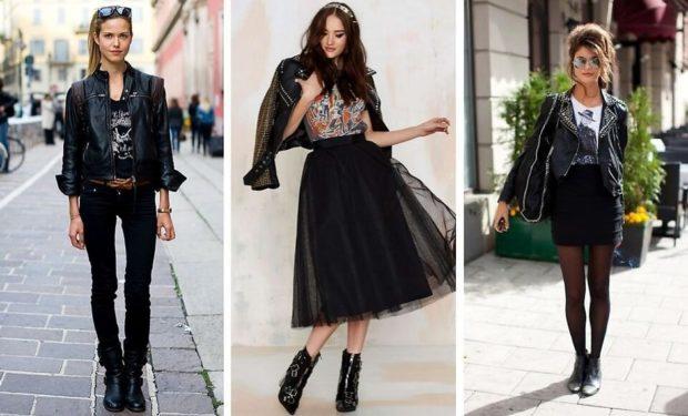 Что одеть на день Святого Валентина 2019: куртка и штаны фатиновая юбка юбка по фигуре черные образы
