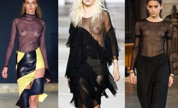 голые платья фото: платья прозрачной ткани черное с желтым