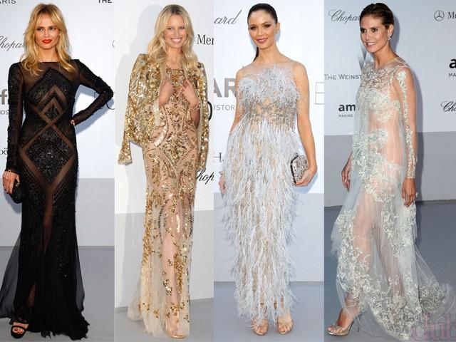голые платья фото: платья с прозрачной ткани черное золотое белое