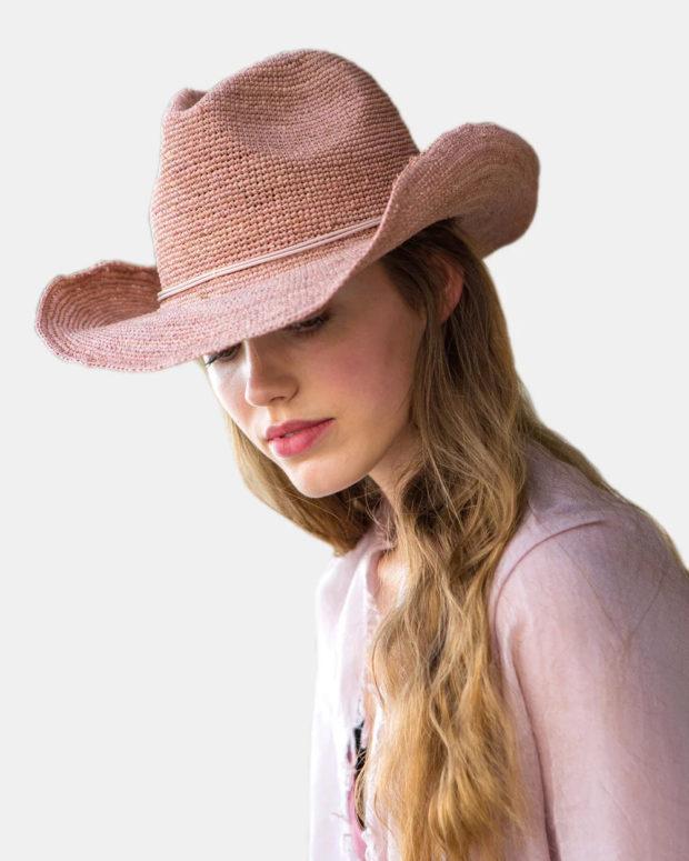 Модные головные уборы весна лето 2019: ковбойская шляпка