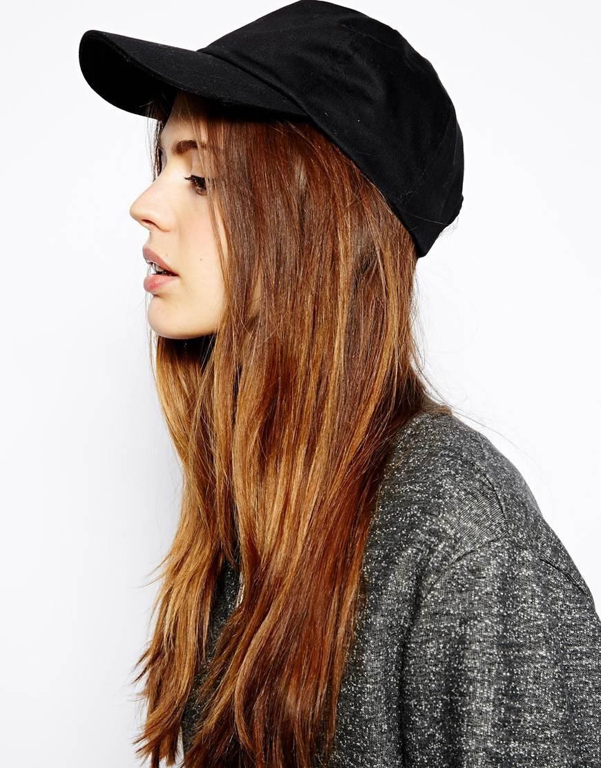 Как носить шапку с челкой: кепи с челкой черный