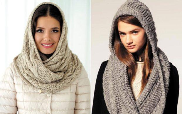 Как правильно носить хомут: как платок как капюшон
