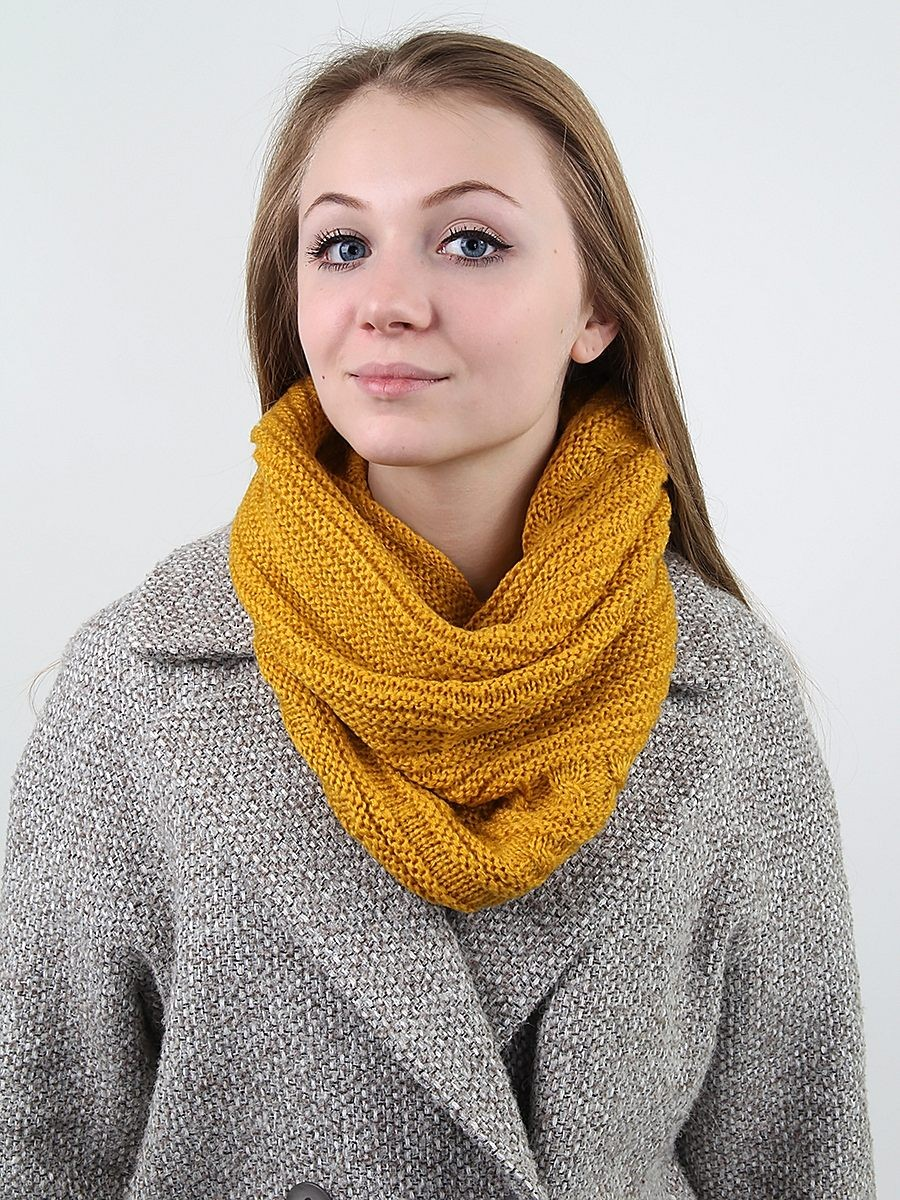 Как правильно носить хомут: короткий желтый