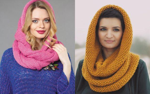 Как правильно носить хомут: как платок вокруг шеи