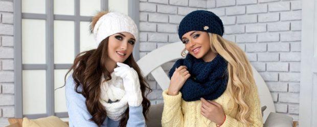 Как правильно носить хомут: белый синий как шарф вокруг шеи