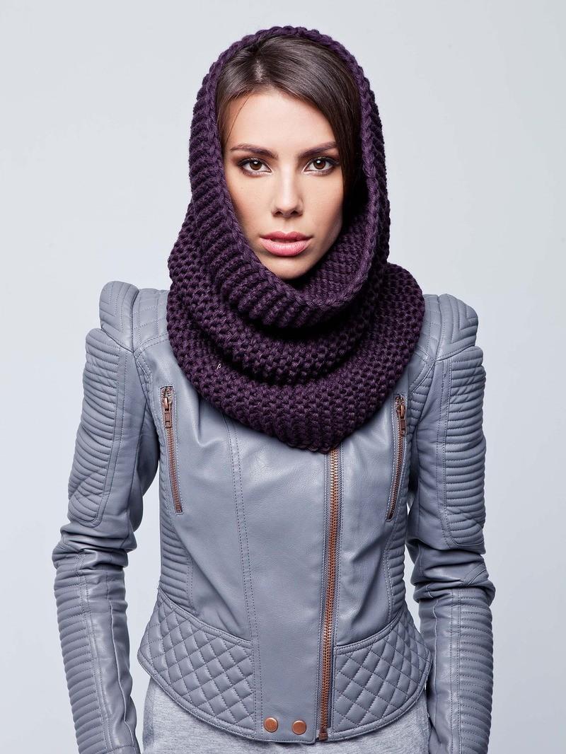 Как правильно носить хомут: сиреневый на голову вокруг шеи