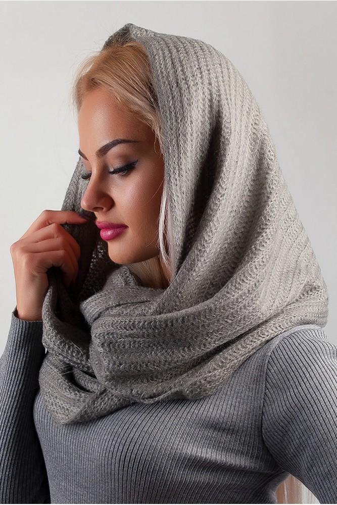 Как правильно носить хомут: серый на голову