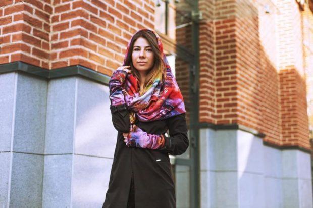 Как правильно носить хомут: яркий хомут на голову и шею