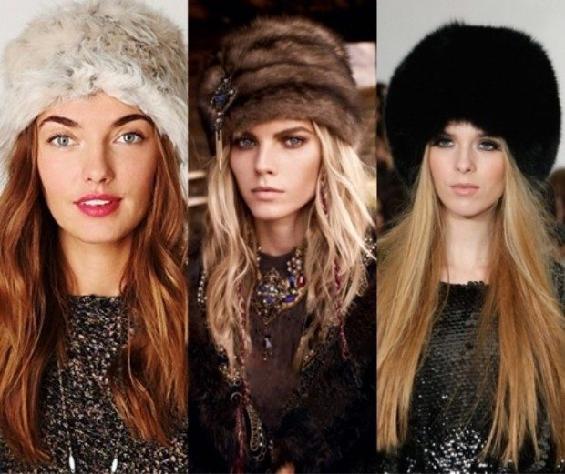 Какую шапку носить с курткой под светлый волос светлая коричневая черная меховые