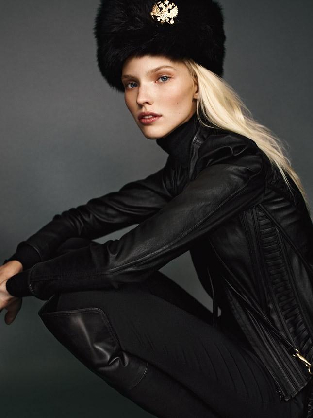 Какую шапку носить с курткой: под кожаную куртку меховая с декором