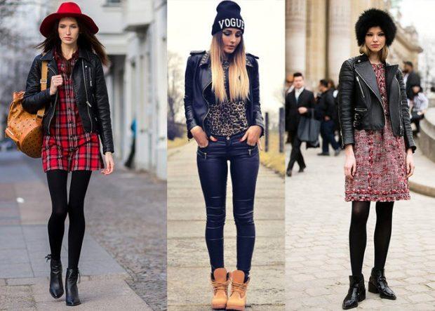 Какую шапку носить с курткой: под кожаную куртку