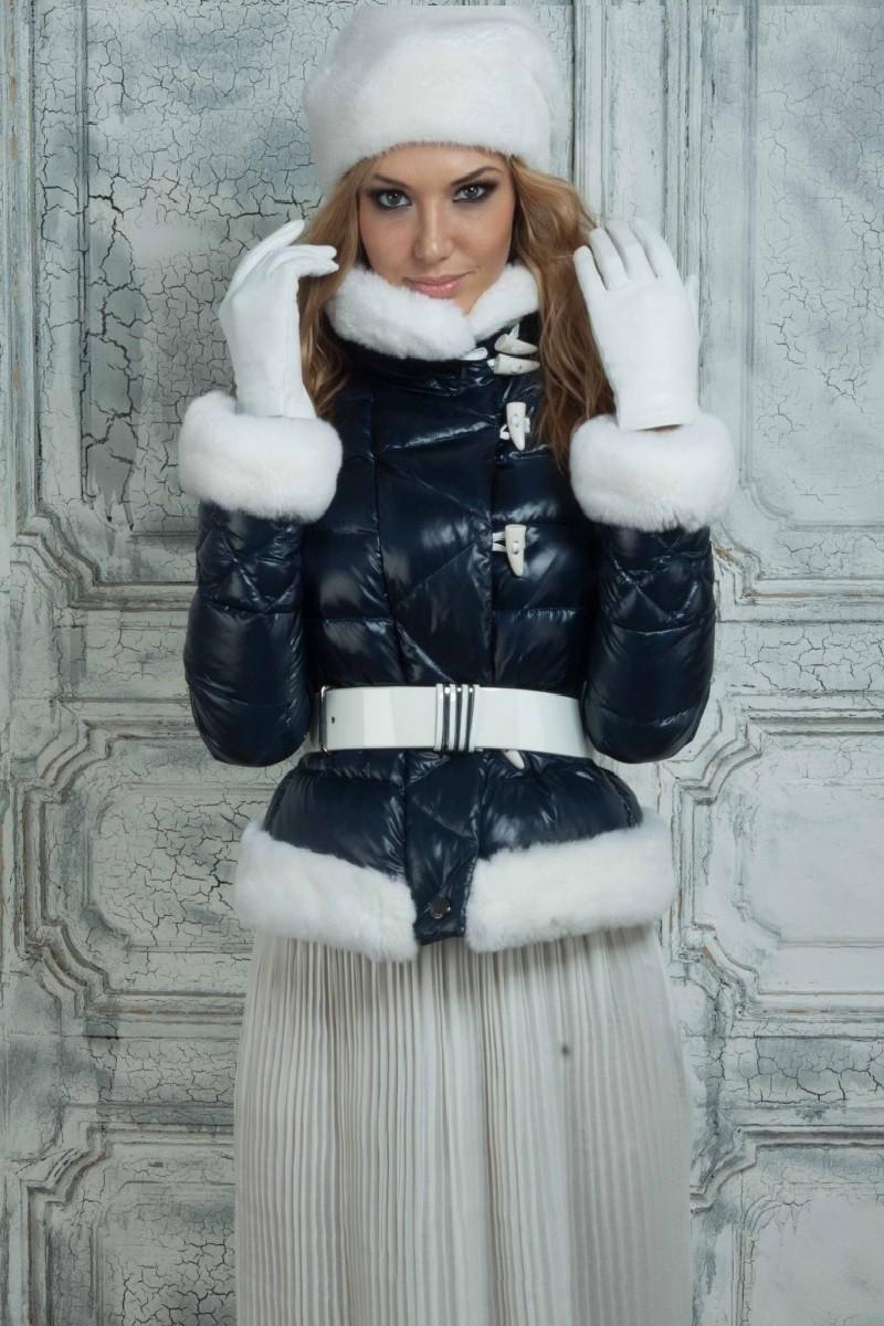 Какую шапку носить с курткой: под короткую куртку меховая белая