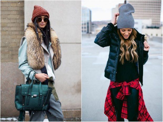 Какую шапку носить с курткой: под короткую куртку коричневая серая трикотажные