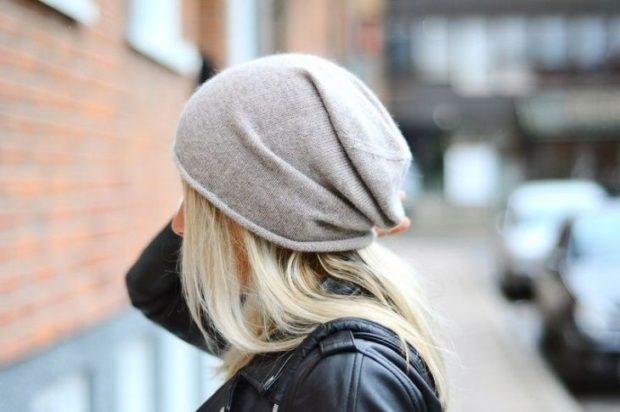 Какую шапку носить с курткой: под короткую куртку серая чулок тонкая