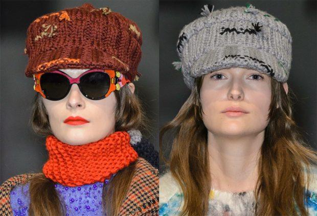Какую шапку носить с курткой: вязанная котелок