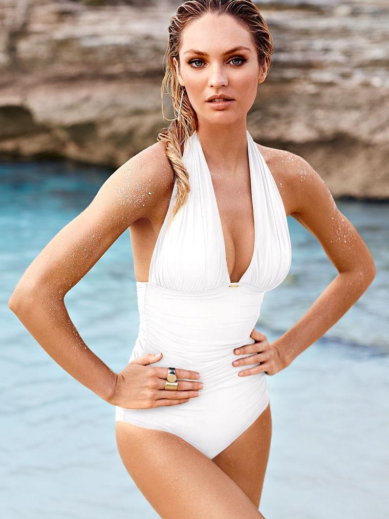 слитный купальник 2018 года модные тенденции фото белый