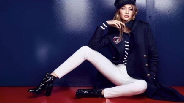 луки осень-зима 2019-2020: джинсы белые