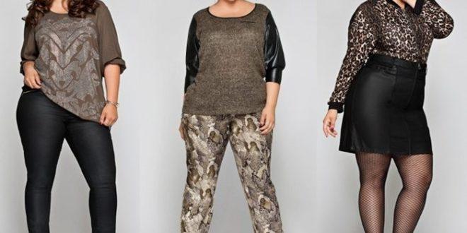 Мода для полных женщин 2020-2021 за 40 лет. Фото.