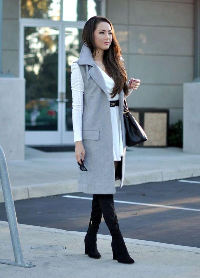 Модные образы весна 2018 на каждый день: образы с пальто ,брюки